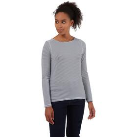 Craghoppers NosiLife Erin Longsleeved Shirt Women, blue navy stripe